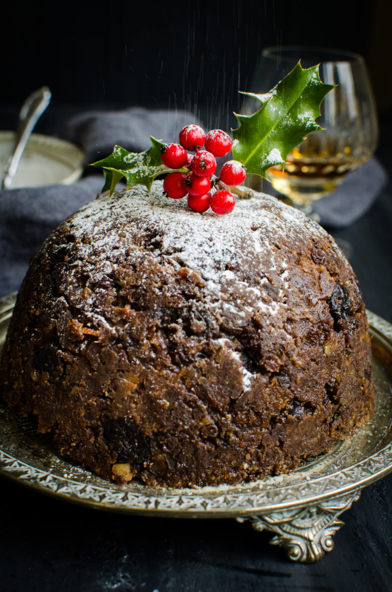 Grain-Free Steamed Christmas Pudding