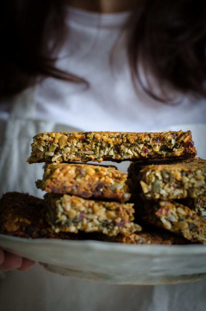 Nut Free Crunchy Energy Bars