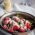 Iced Berries with Creme Anglaise Sauce