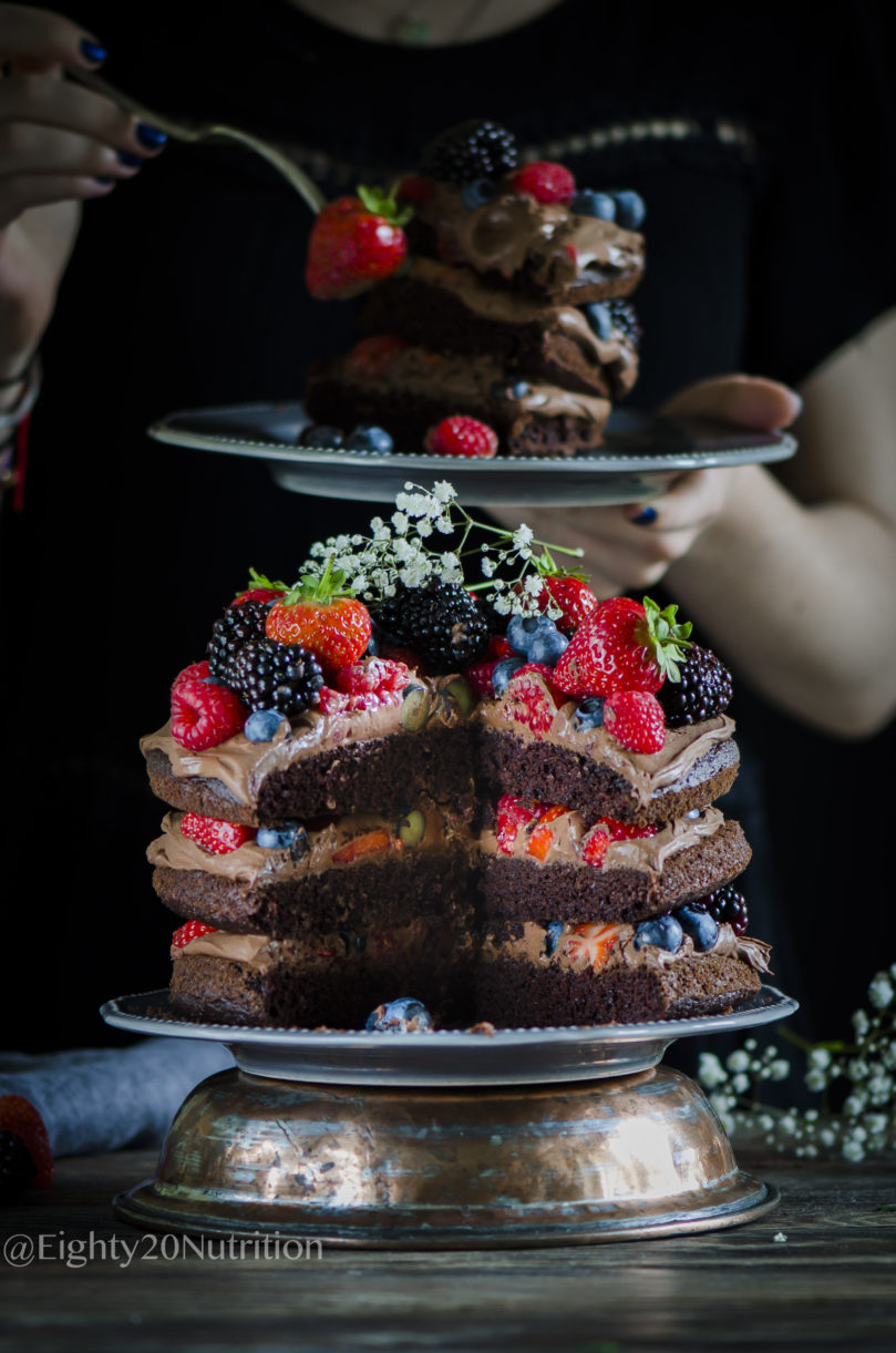 Ultimate Paleo  Chocolate Cake