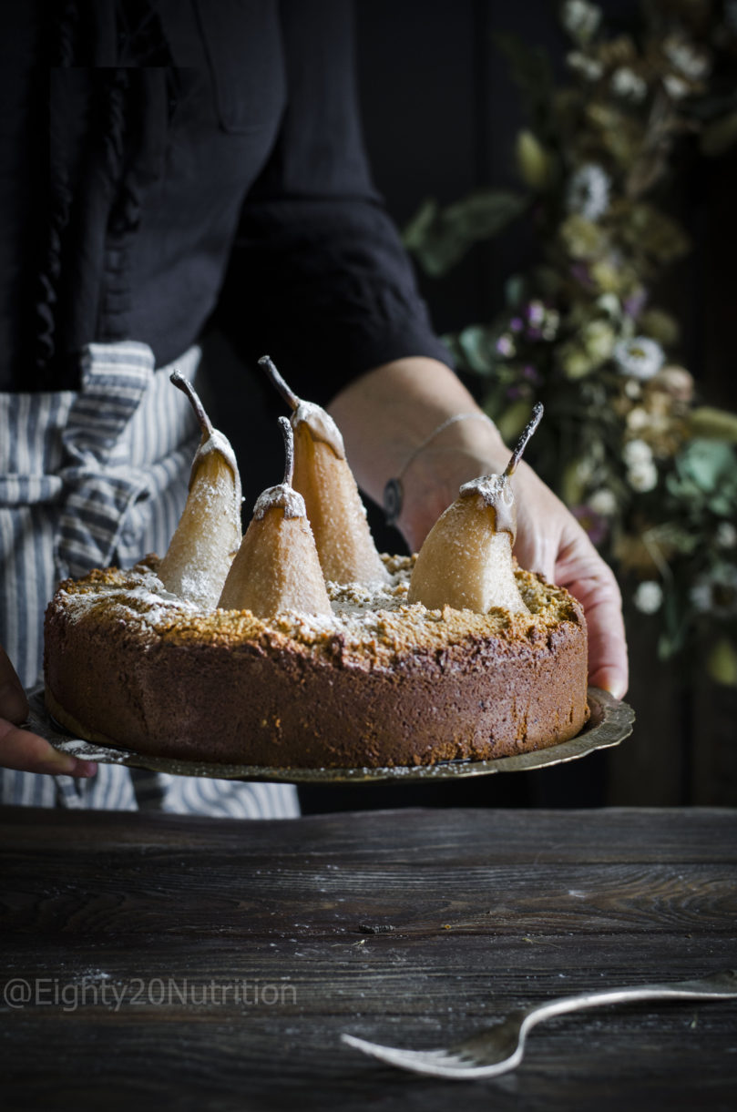 Pear and Frangipane Cake