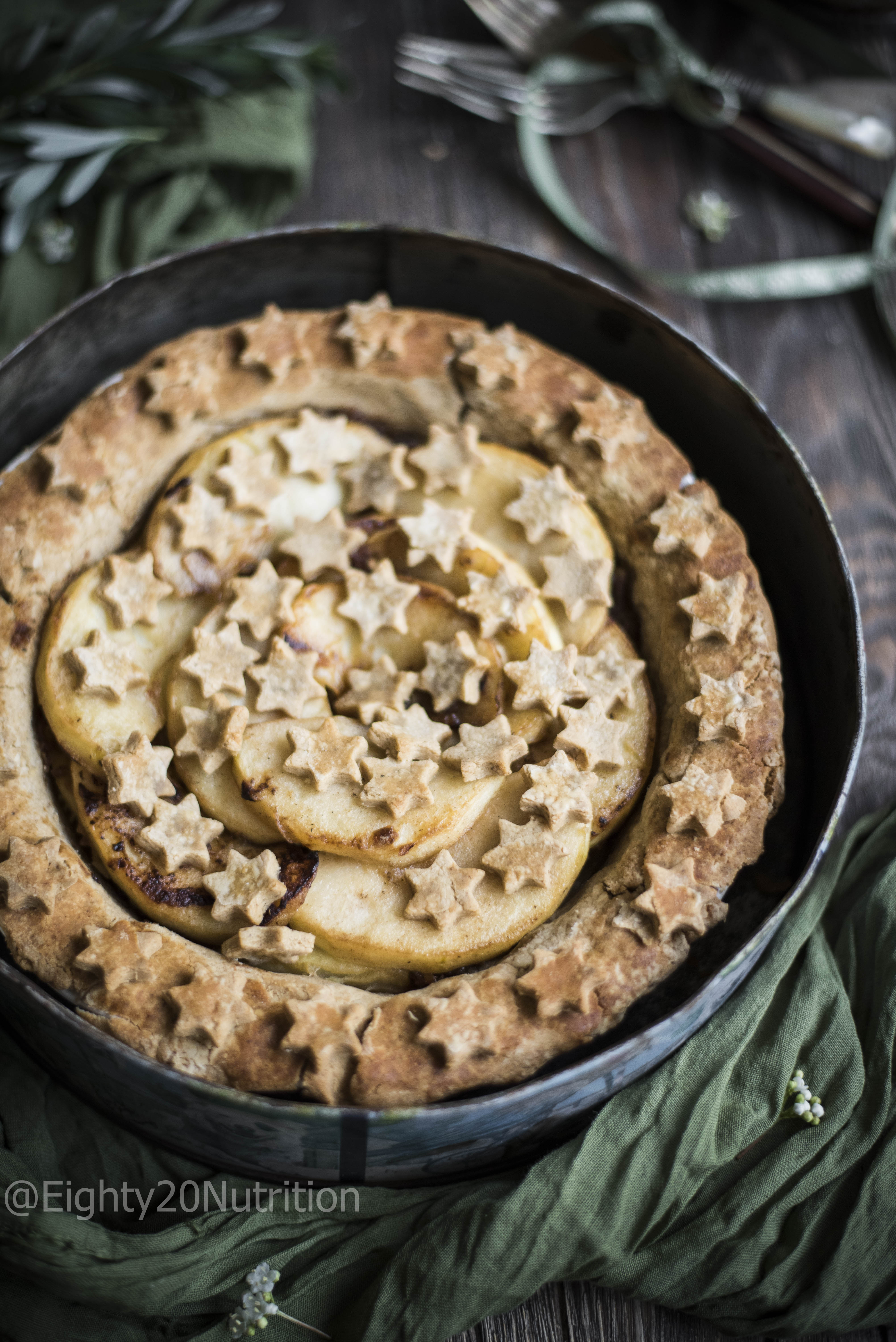 Bramley Apple and Ginger Pie