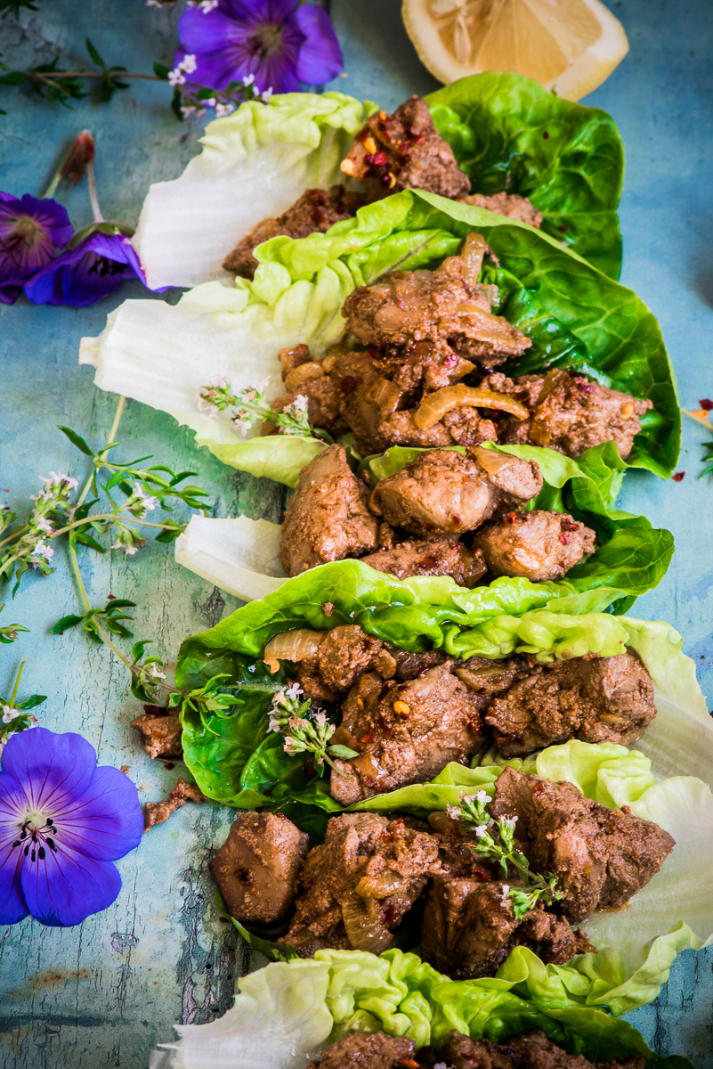 Portuguese Chicken Livers